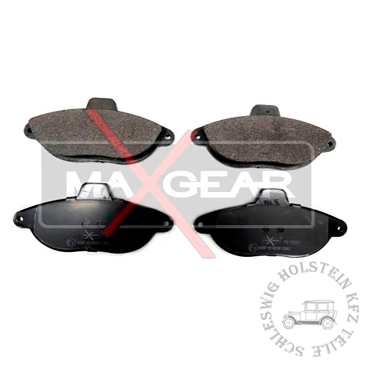 Bremsbelagsatz Vorne für FIAT ULYSSE (220_) 2.0 (220.AC5)