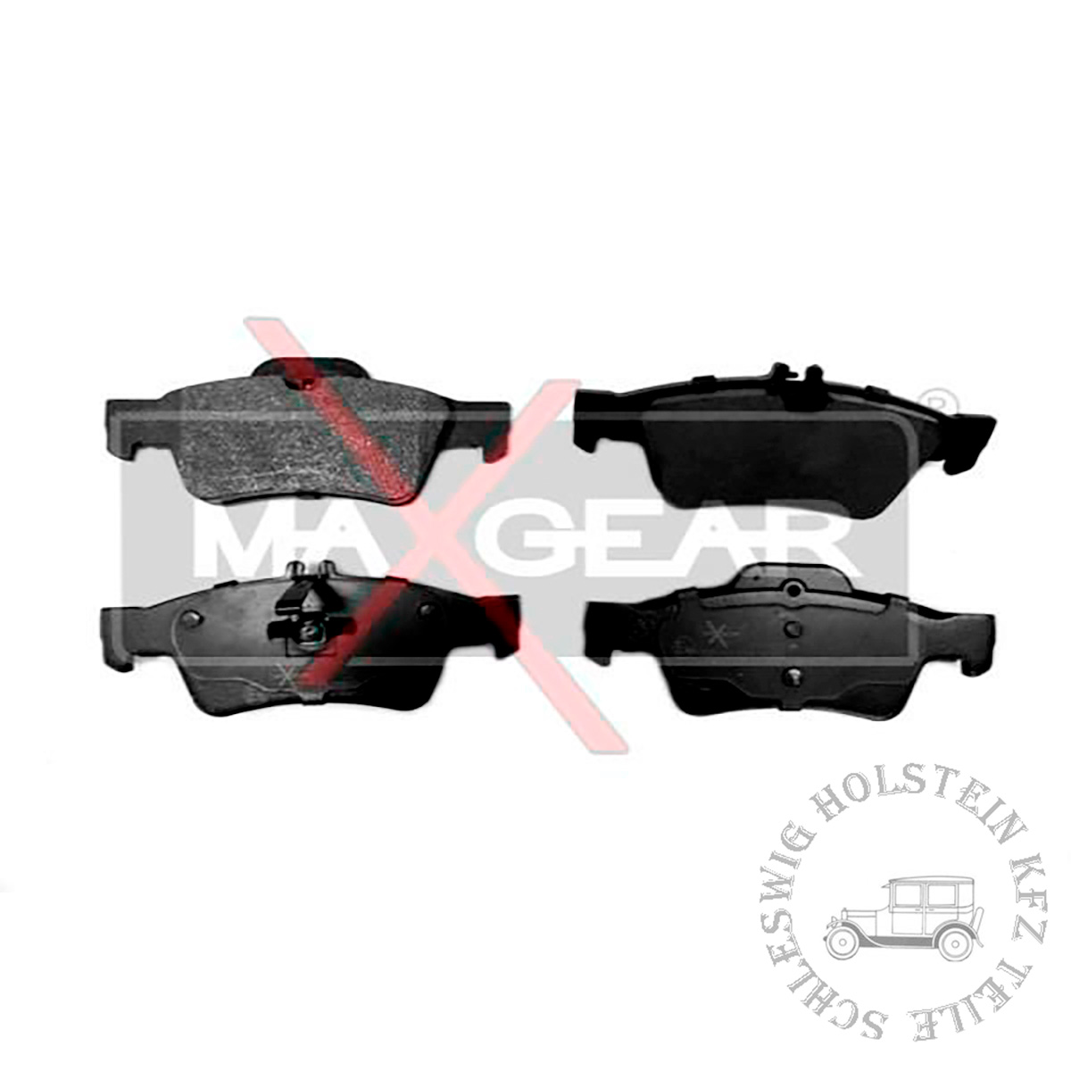 Bremsbelagsatz Hinten für MERCEDES-BENZ E-CLASS (W212) E 300 CDI / BlueTEC