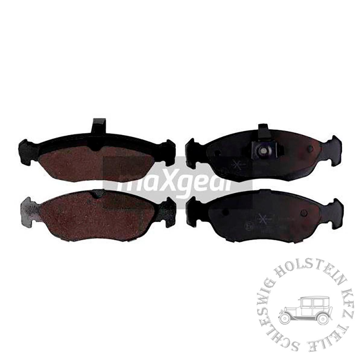 Bremsbelagsatz Vorne für PEUGEOT 306 Schrägheck (7A, 7C, N3, N5) 1.4