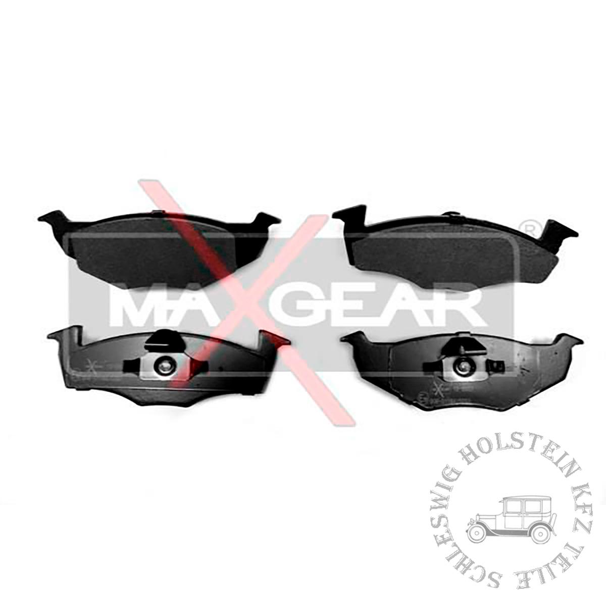 Bremsbelagsatz Vorne für VW LUPO (6X1, 6E1) 1.0