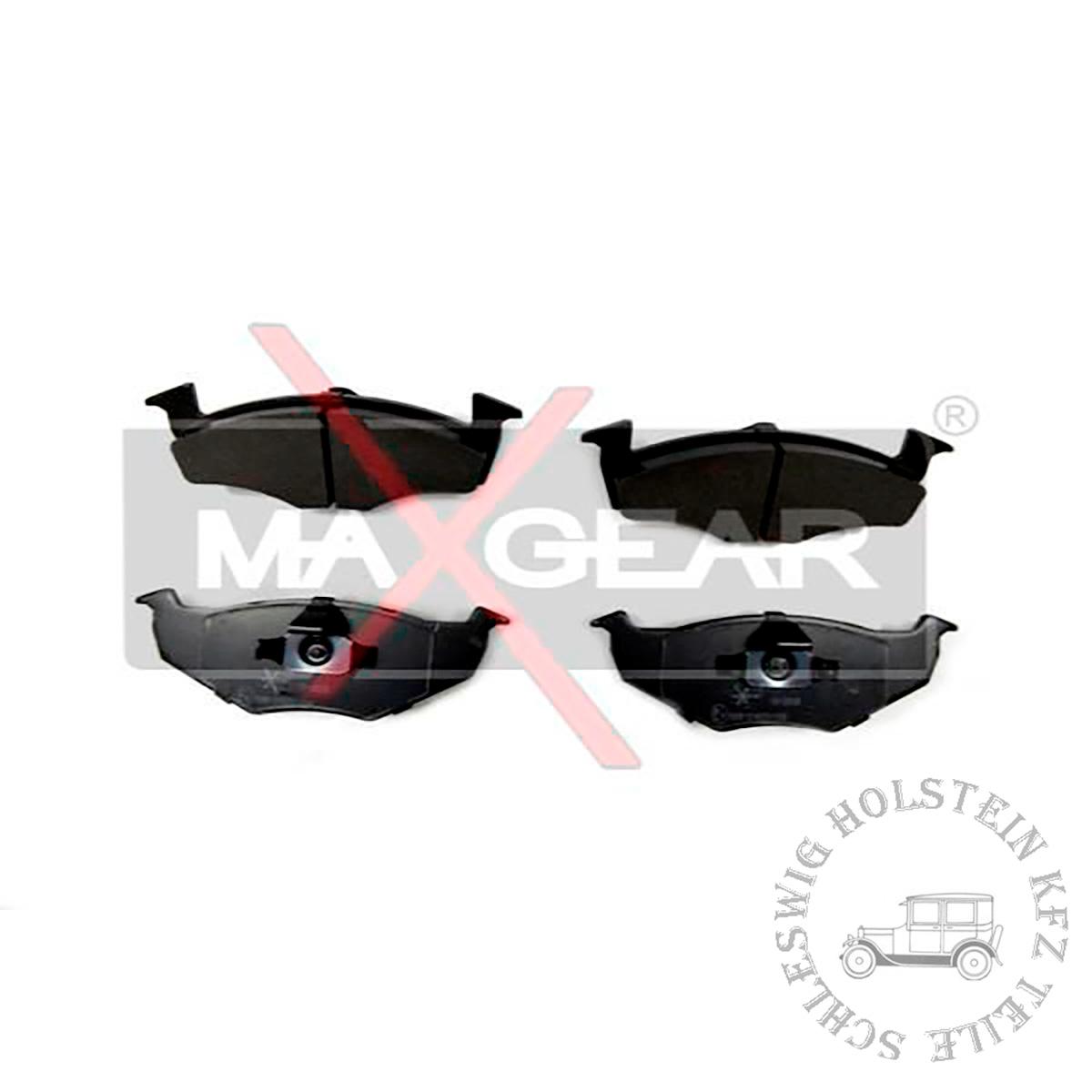 Bremsbelagsatz Vorne für VW GOLF III (1H1) 1.9 D