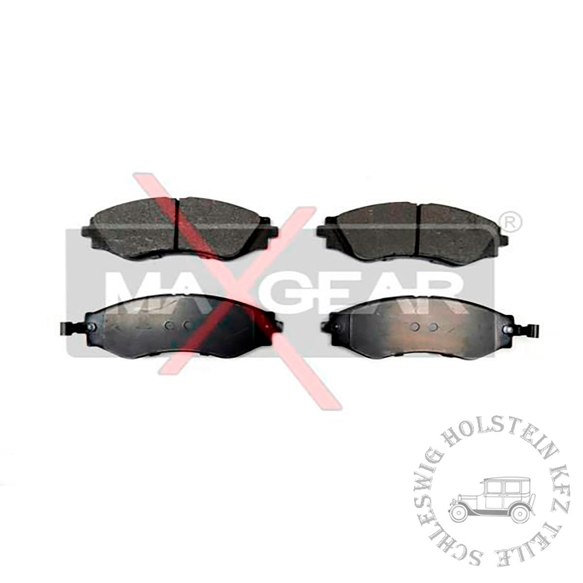 Bremsbelagsatz Vorne für DAEWOO REZZO (U100) 2.0